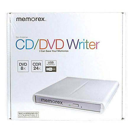 MEMOREX SLIM EXTERNAL CD/DVD WRITER FOR SALE IN TRINIDAD